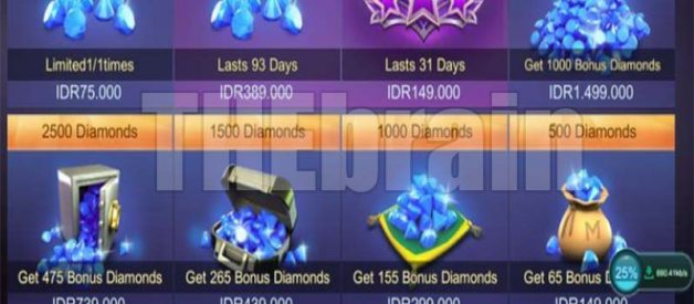 Mega Diamond Mobile Legends