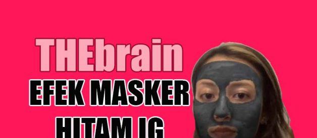 efek masker hitam Ig