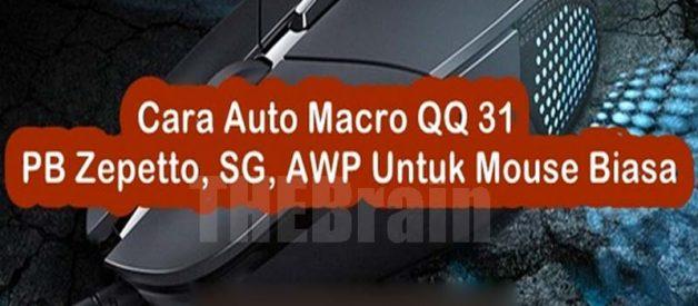 Cara Auto Macro QQ 31, PB Zepetto, SG, AWP