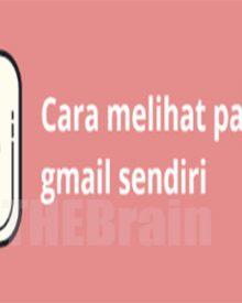 Cara Melihat Password Gmail, Mudah!