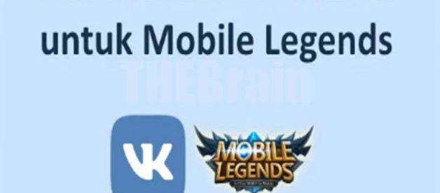 Cara Membuat Akun VK Untuk Mobile Legends, Mudah!