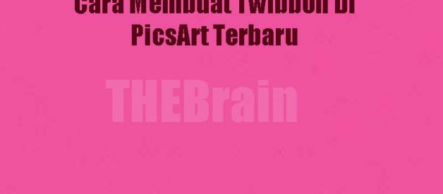 Cara Membuat Twibbon Di PicsArt Terbaru