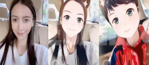 FIlter Anime Tiktok