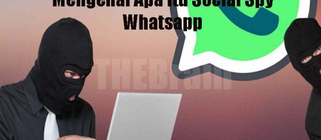 Mengenal Apa Itu Social Spy Whatsapp