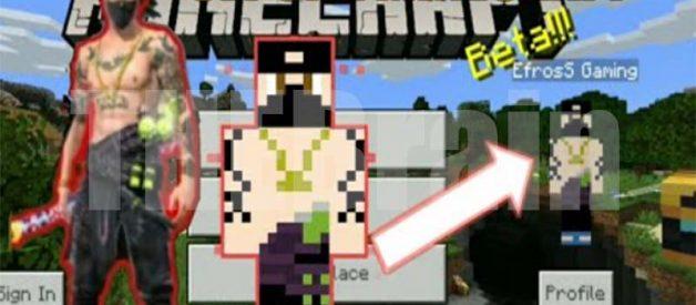 Skin Minecraft Free Fire