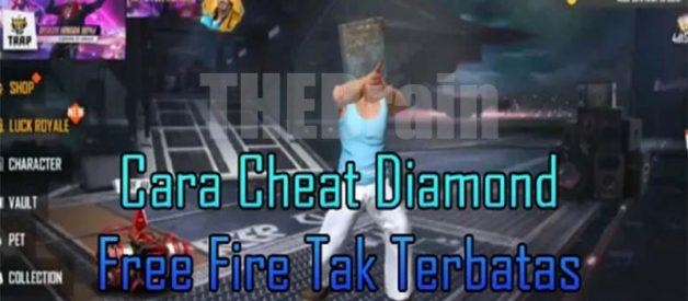 Cara Cheat Diamond Free Fire Tidak Terbatas