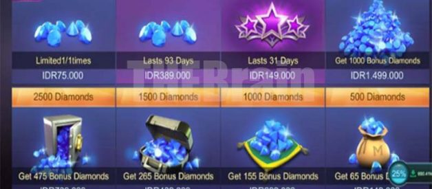 Cara Dapatkan Diamond Gratis Mobile Legend