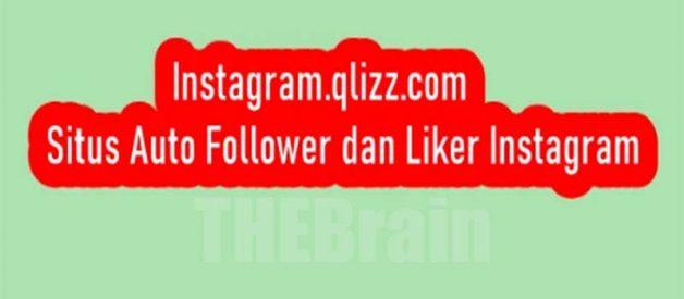Cara Gunakan Instagram.qlizz.com Situs Auto Follower Dan Liker Instagram