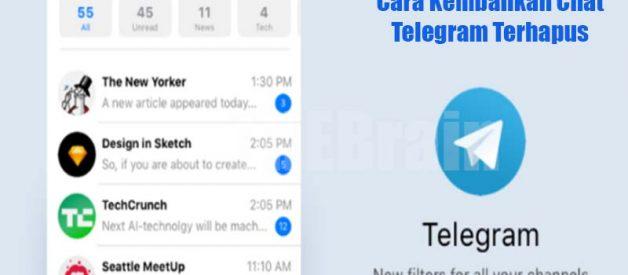 Cara Kembalikan Chat Telegram Terhapus