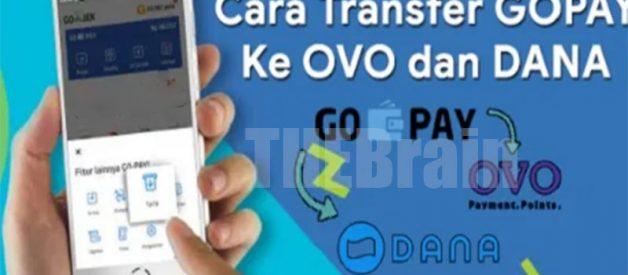 Cara Transfer Gopay Ke OVO Dan Dana