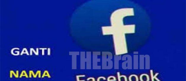 Cara Ganti Nama Profil Facebook Mudah!