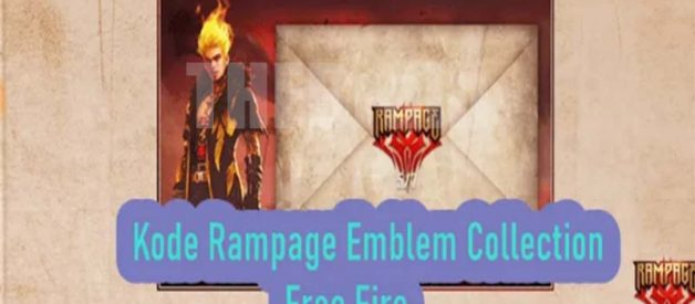 Kode Rampage Emblem Collection Free Fire