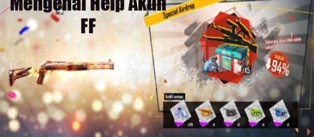 Mengenal Help Akun FF