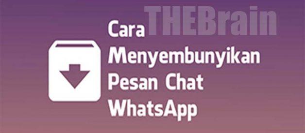 Cara Sembunyikan Chat WhatsApp di Android Terbukti Work