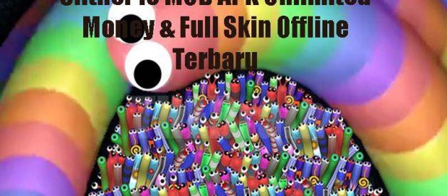 Slither io MOD APK Unlimited Money & Full Skin Offline Terbaru