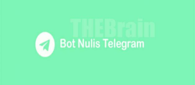 Fitur Bot Nulis Telegram By Its Will Buat Mager Nulis