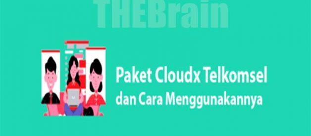 Cara Gunakan Paket Kuota Cloudx Telkomsel