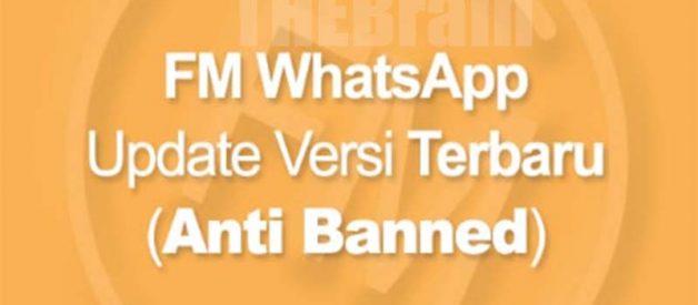 Mengunduh FMWhatsApp Versi Terbaru Anti Banned