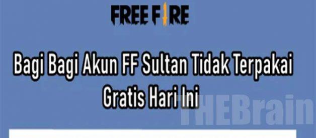 Bagi – Bagi Akun FF Sultan Terbaru, Gratis!