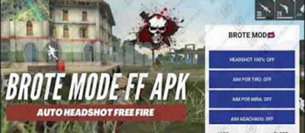 Cara Dapatkan Brote Mod FF Apk Cheat Menu Free Fire Terbaru