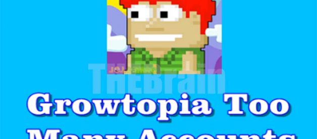 Cara Atasi Game Growtopia Too Many Accounts Created From This Ip Address