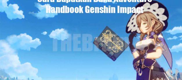 Cara Dapatkan Buku Adventure Handbook Genshin Impact
