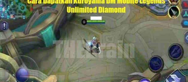 Cara Dapatkan Kuroyama DM Mobile Legends Unlimited Diamond