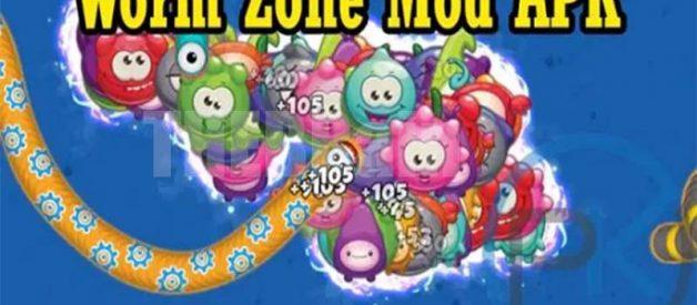 Cara Dapatkan Worms Zone Mod Apk Full Unlocked