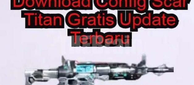 Cara Dapatkan Config FF Scar Titan Legendaris Gratis Terbaru