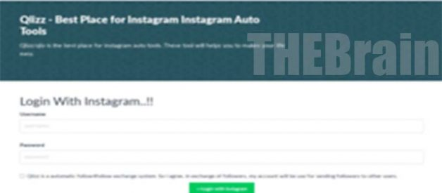 Cara Gunakan Instagram.qlizz.com Situs Auto Follower Juga Liker