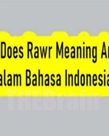 Arti Dari What Does Rawr Meaning Bahasa Indonesia