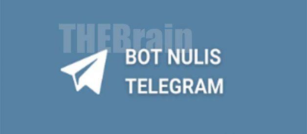 Cara Menulis Bot Nulis Telegram By Its Will