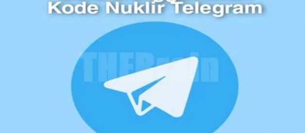 Cara Gunakan Kode Nuklir Di Telegram
