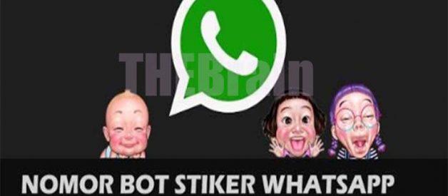 Cara Gunakan Nomor Bot Sticker Whatsapp Terbaru!