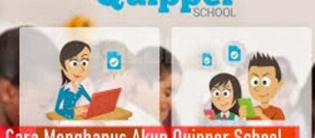 Cara Hapus Akun Quipper School Mudah!