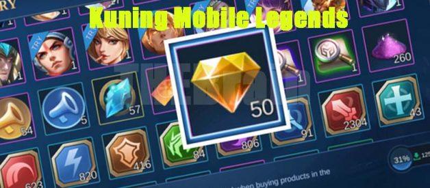 Cara Memakai Diamond Kuning Mobile Legends