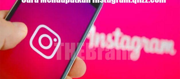 Cara Mendapatkan Instagram.qlizz.com