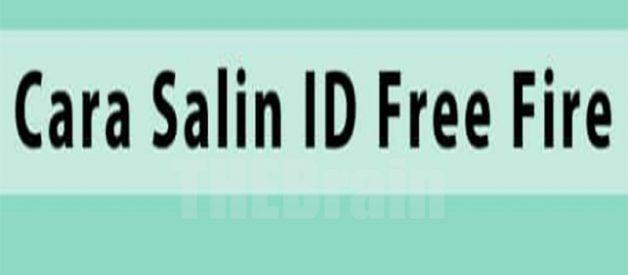 Cara Menyalin ID Game Free Fire