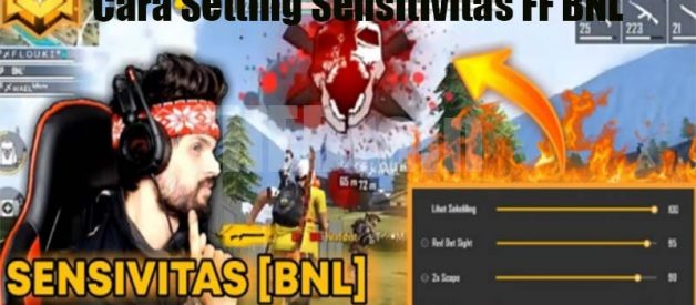 Cara Setting Sensitivitas FF BNL