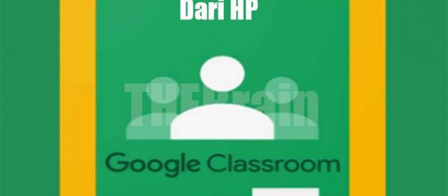 Cara Unduh File Di Google Classroom Dari HP