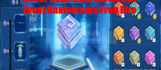 Daftar Kode Chip Collection Event Anniversary Free Fire