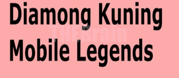 Cara Gunakan Diamond Kuning Mobile Legends