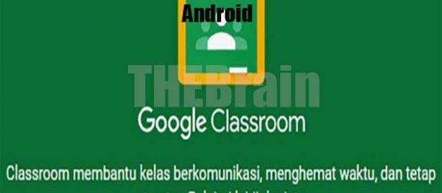 Cara Hilangkan Kelas Di Google Classroom Di Android