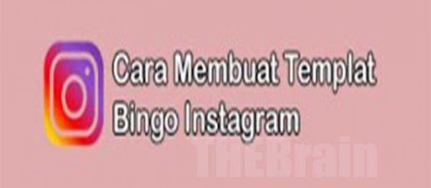 Langkah Membuat Template Bingo Di Instagram