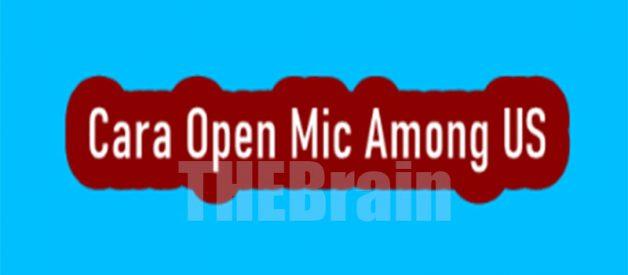 Cara Gunakan Open Mic di Among Us, Pesan Suara