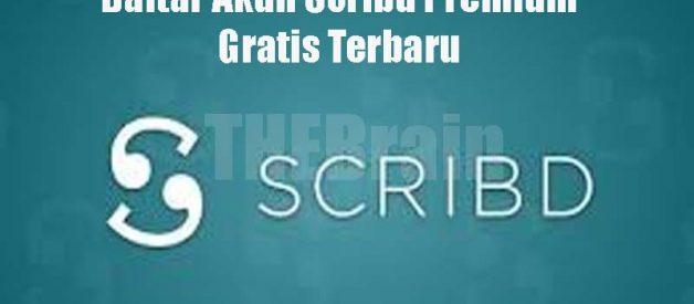Daftar Akun Scribd Premium Gratis Terbaru