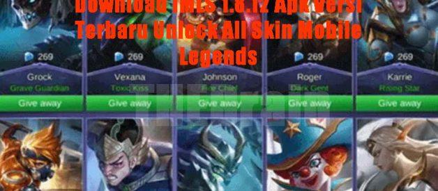 Download IMLS 1.8.12 Apk Versi Terbaru Unlock All Skin Mobile Legends