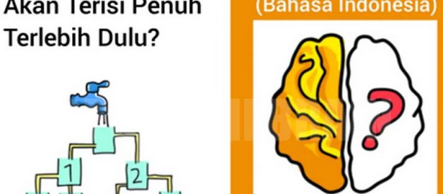 Jawaban Gelas Mana Yang Terisi Penuh Terlebih Dahulu Game Brain Out