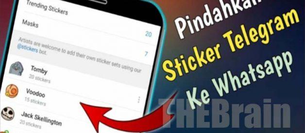 Langkah Pindahkan Stiker Telegram Ke WhatsApp