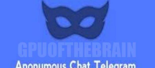 Kiat Jalankan Anonymous Chat Telegram Indonesia Dengan Bot